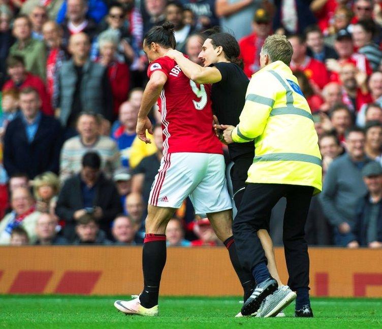 Ibrahimovic'in benzeri sahaya daldı, herkes şok oldu!