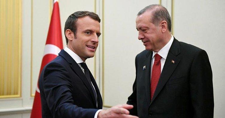 Macron'dan 'fotoğrafçı' teşekkürü