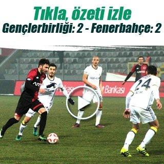 Gençlerbirliği-Fenerbahçe maç sonucu