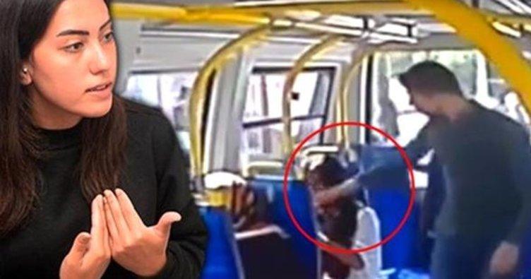 Şortlu kızı darp eden saldırganın babasından şok sözler