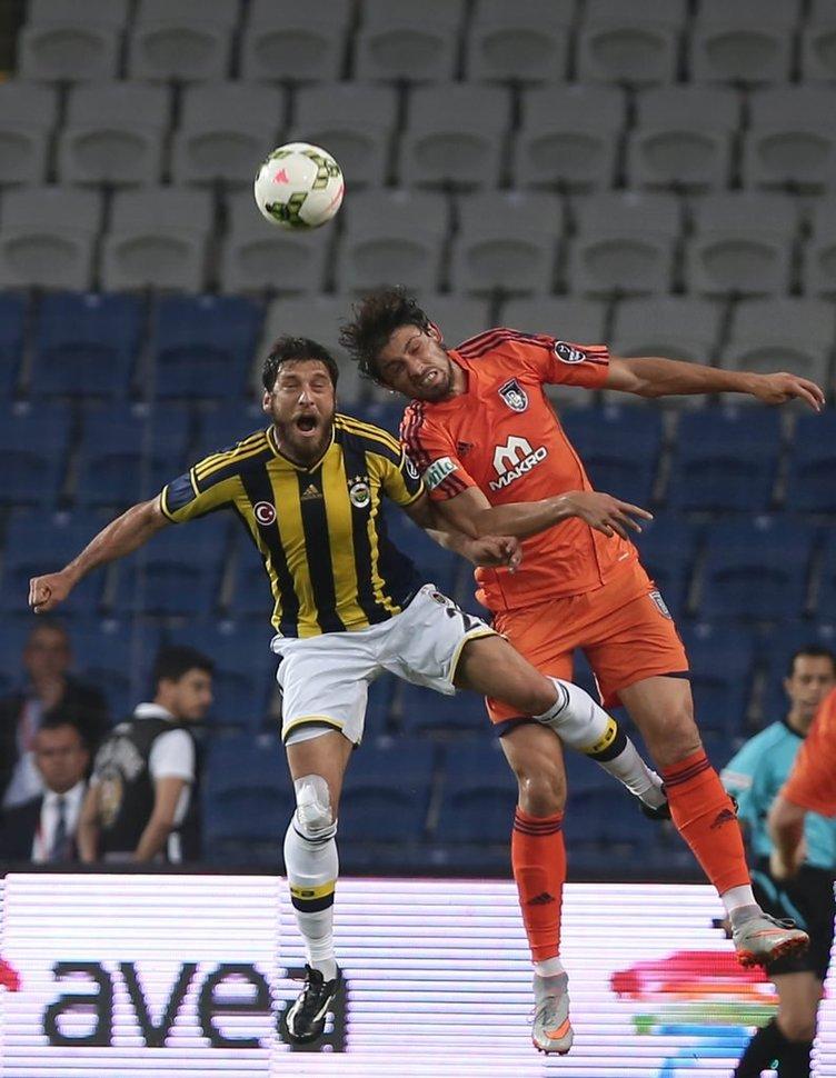 İstanbul Başakşehir - Fenerbahçe maçından kareler