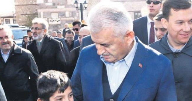 Başbakan'dan Altındağ çıkarması