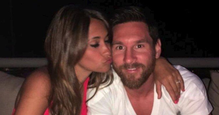 Messi'den arkadaşlarına jest