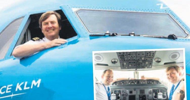 En Kral pilot!