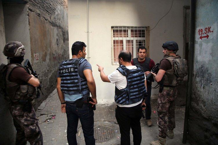 Diyarbakır'da hava destekli şafak operasyonu
