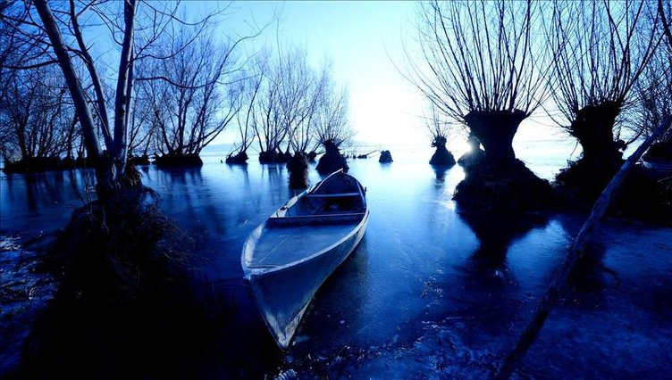 Işıklı gölünde yaşam