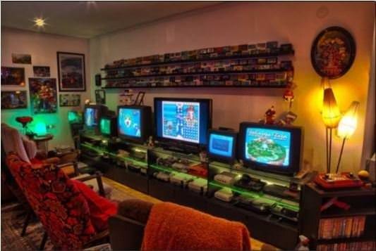 Oyun meraklılarının hayalini kurdukları oyun odaları