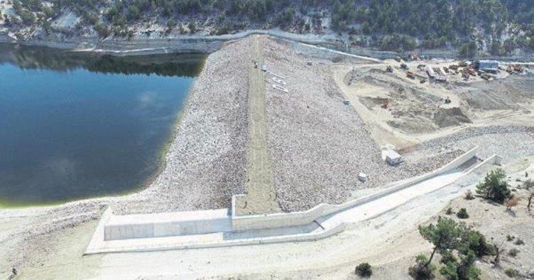 Uşak'ta Uzundere barajı tamamlandı