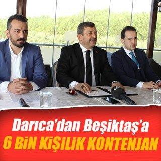 Darıca'dan Beşiktaş'a 6 bin kişilik kontenjan