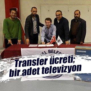 Televizyon karşılığı transfer!