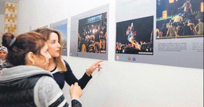 LÜBNAN'DA 15 TEMMUZ FOTOĞRAF SERGİSİ