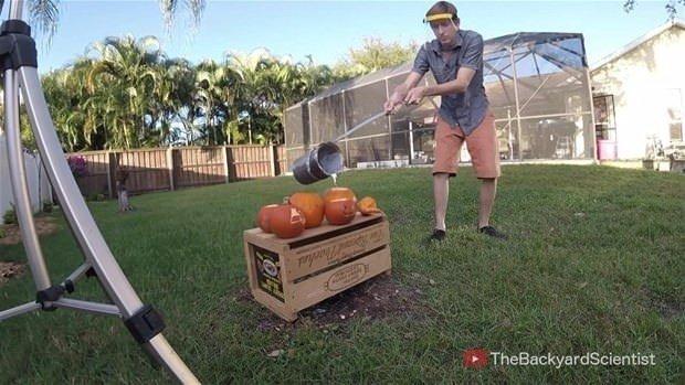 Balkabağıyla ilginç deney