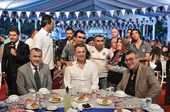 Beşiktaş Kulübü'nden iftar programı