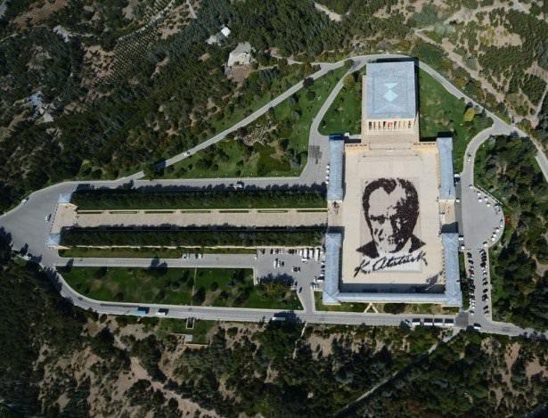 Anıtkabir'de rekor denemesi