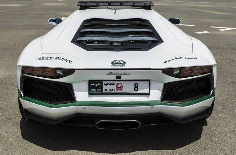 Lamborghini polis otomobili oldu