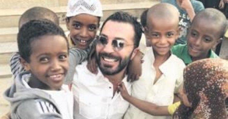 Kimsesiz çocuklar için Afrika'ya gitti