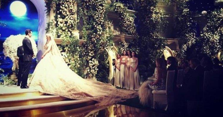 Oscar salonunda rüya gibi düğün