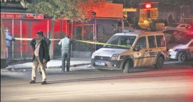 Altındağ'da polise ses bombası