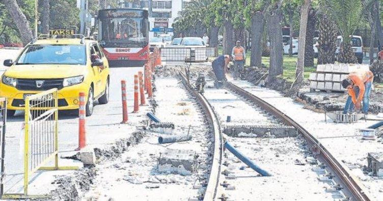 Konak Tramvayı'nda 5 ve 6. etap inşaatı başlıyor