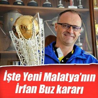 Yeni Malatyaspor, İrfan Buz ile devam edecek