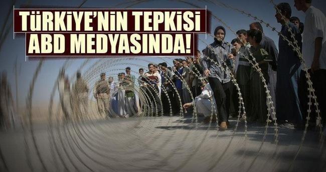 Türkiye'nin tepkisi ABD medyasında