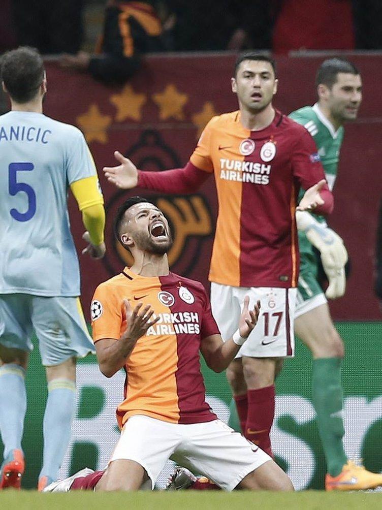 Galatasaray-Astana maçından kareler