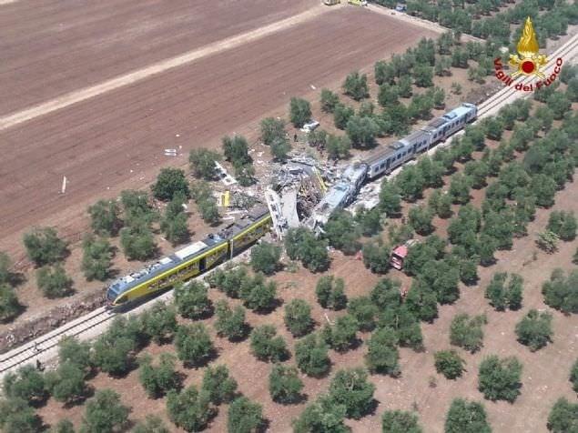 İtalya'daki tren kazasında ölü sayısı 25'e yükseldi