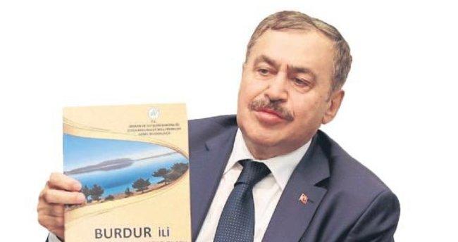 Burdur'un bir bakanı var