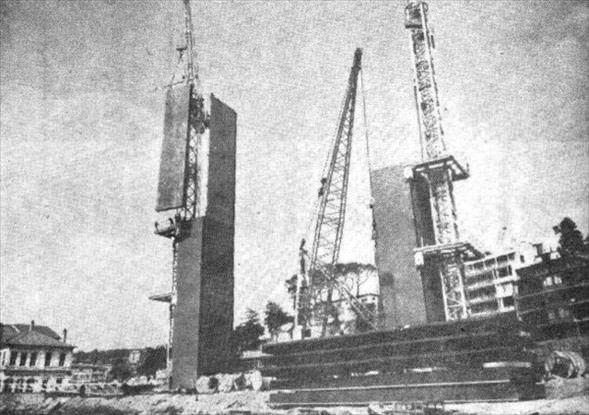 Boğaziçi Köprüsü'nün kare kare yapılışı
