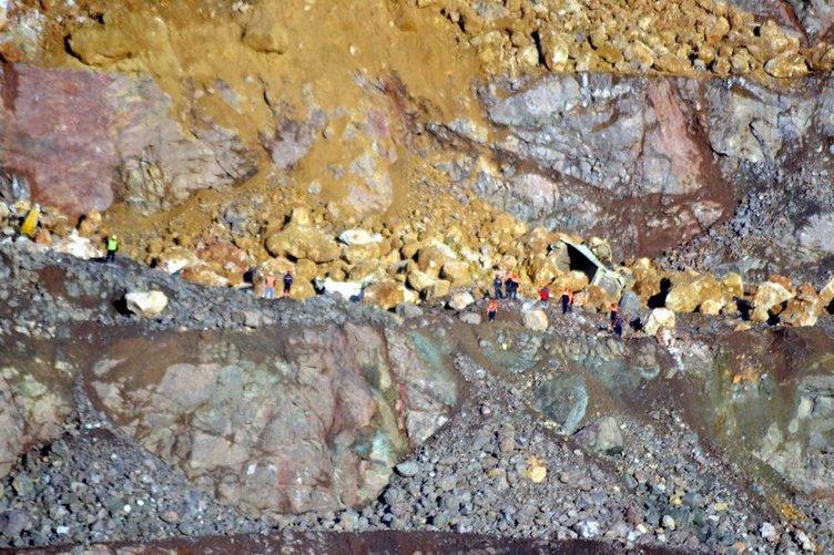 Siirt'te bakır madeninde göçük faciası