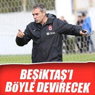 Ersun Yanal, Beşiktaş'ı böyle devirecek!