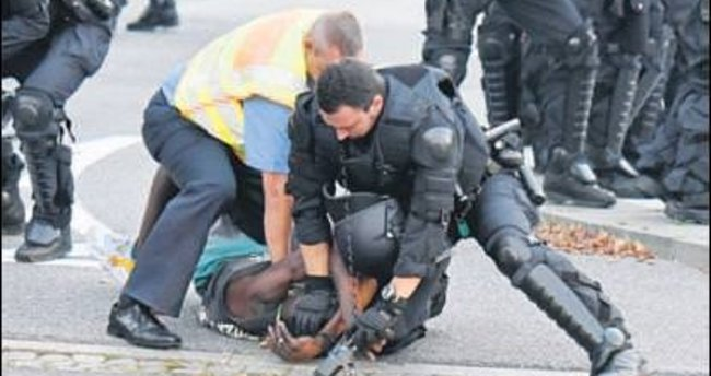 Sığınmacılara sokağa çıkma yasağı