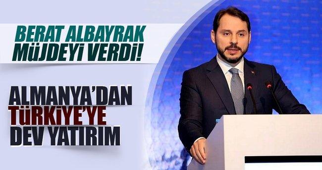 Bakan Albayrak açıkladı: Alman enerji şirketi Türkiye'ye yeni yatırım yapacak
