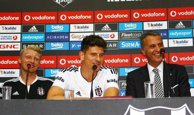 Beşiktaş'tan flaş Mario Gomez hamlesi!