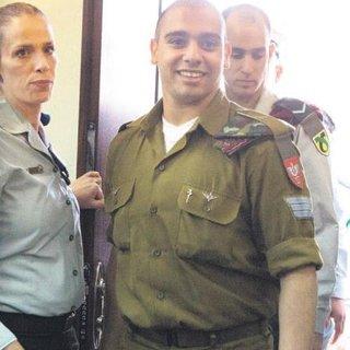 İsrailli askere göstermelik ceza