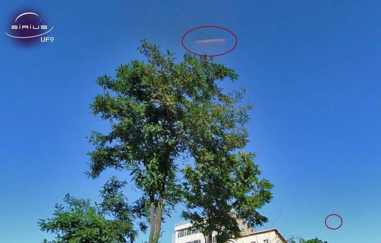 Yılın ilk UFO'ları görüntülendi