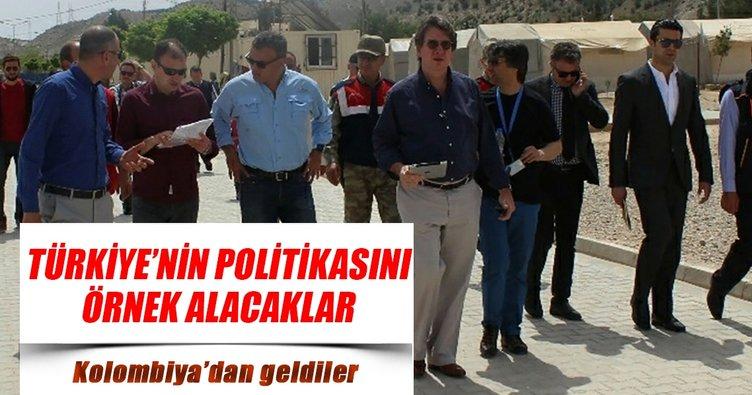 Örnek aldıkları ülke Türkiye