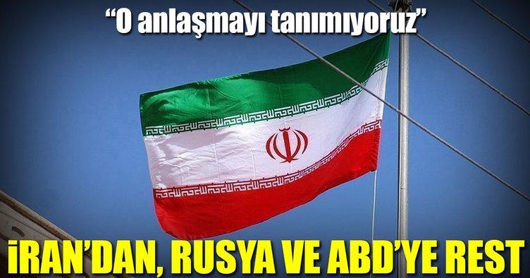 İran'dan ABD ile Rusya'ya rest