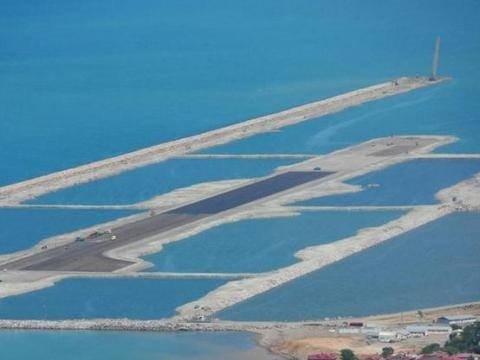 Türkiye'nin ilk denizüstü havalimanı