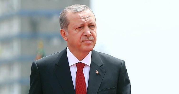 Cumhurbaşkanı Erdoğan'dan şehit ailesine başsağlığı telgrafı!
