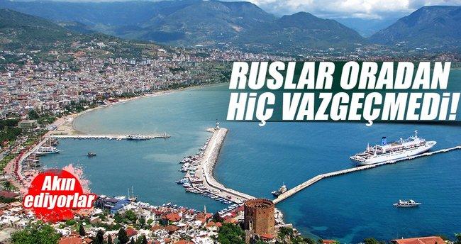 Ruslar Alanya'dan vazgeçmedi