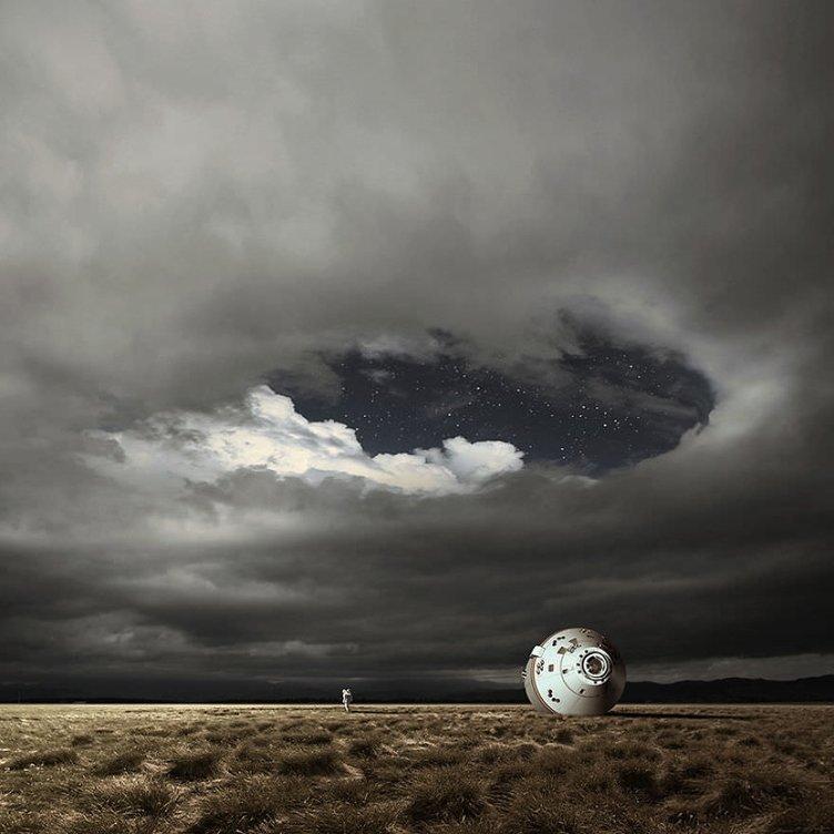 Bir fotoğrafçının 'Paralel Dünyası'