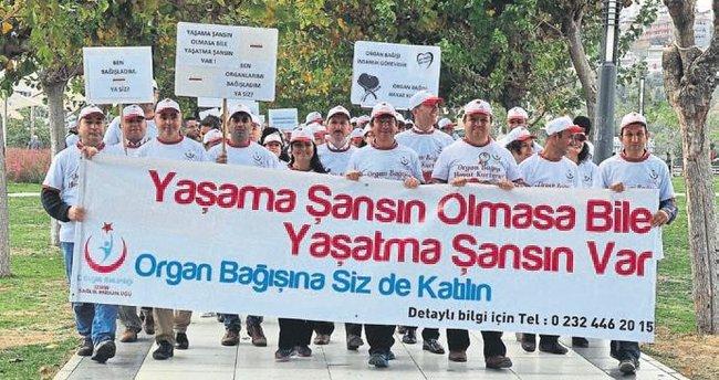 Organ bağışı lideri İzmir