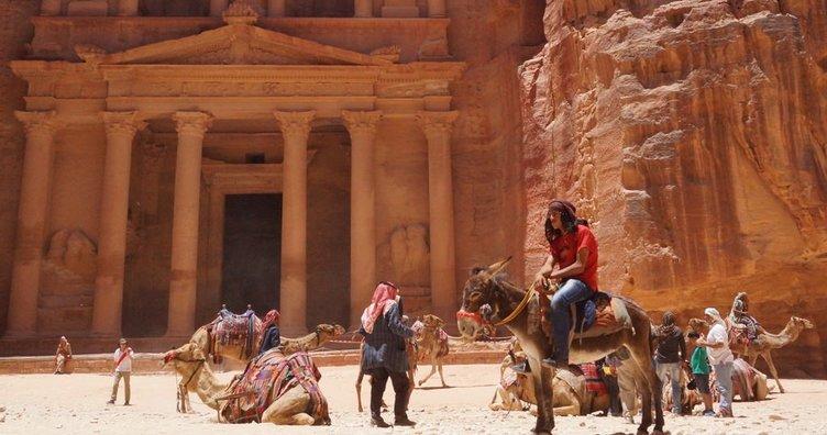 Ürdün'ün gizli hazinesi Petra