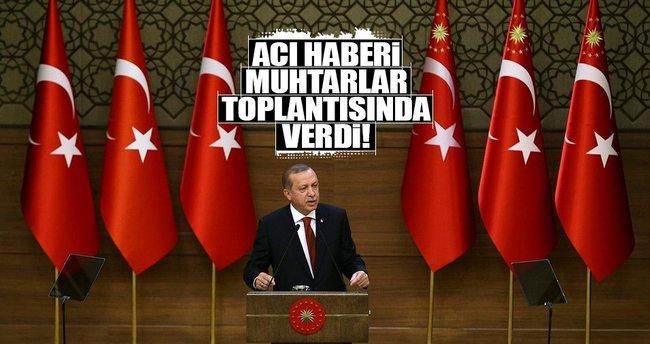 Cumhurbaşkanı Erdoğan: 15 Temmuz'un şehit sayısı yükseldi
