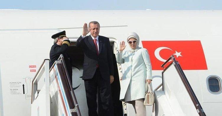 Cumhurbaşkanı Erdoğan Kuveyt'e gitti