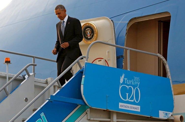 Obama Antalya'ya geldi