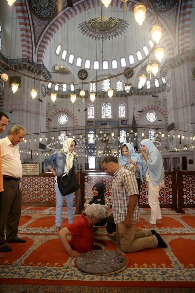 Süleymaniye Caminin gizli dehlizi