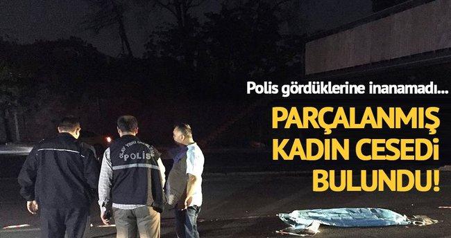 Başkent'te parçalanmış kadın cesedi bulundu