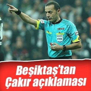Beşiktaş cephesinden Cüneyt Çakır'la ilgili açıklama